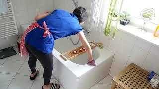 رميت ملابسي وملابس زوجي 😱صباح معايا منين كنكون فالدار😆 تنظيف وترتيب واسترخاء 😎