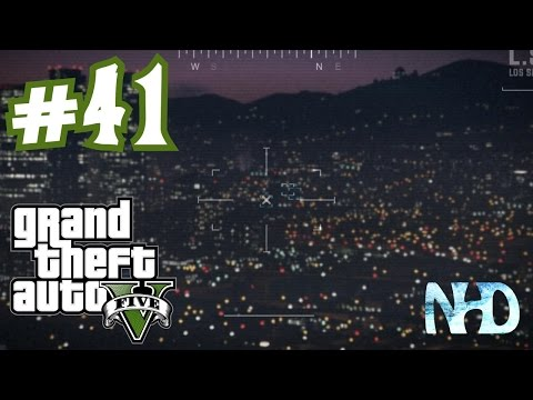 Let's Play Grand Theft Auto 5 (pt41) Chad Mulligan Heli Scan