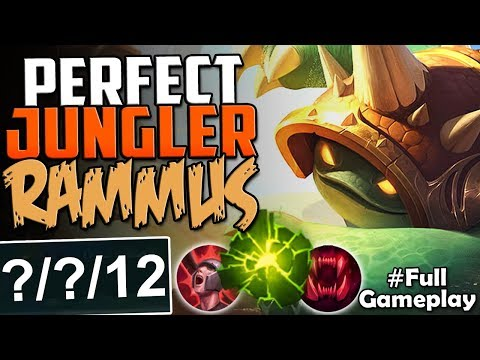 Rammus Build Jungle Season
