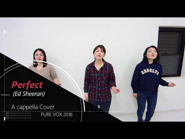 【洋楽カバー アカペラ】Ed Sheeran-Perfect/A cappella Cover