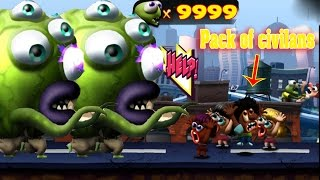 Zombie tsunami cheat all pack of civilans max 999 zombies