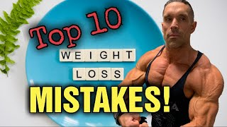 Top 10 Things To Avoid When Trying To Lose Weight