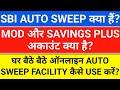 Gambar cover sbi auto sweep facility   sbi mod account   sbi savings plus account   FD Interest Rate