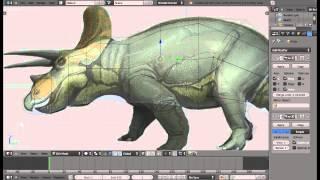 Blender 2.6 Game Model. Part 1 - Low-poly