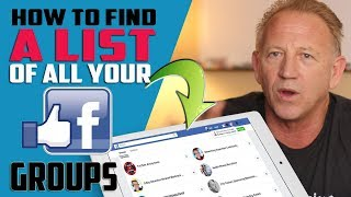 How To Find A List Of All Your Facebook Groups On Your Fan Page?