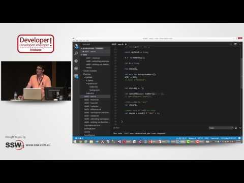TypeScript – Code Javascript likes it's 2016! | Ian Yates at DDD Brisbane