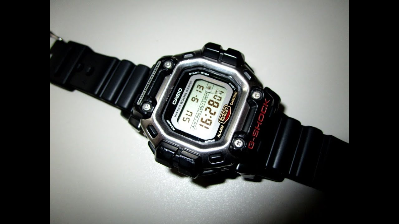 b5daa03444c G Shock DW 8300 unboxing an review by TheDoktor210884 - YouTube