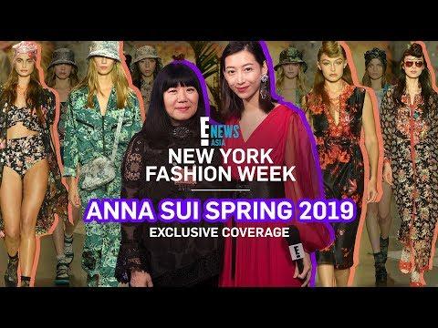 NYFW 2018 X ANNA SUI   E! VIP   E! News Asia