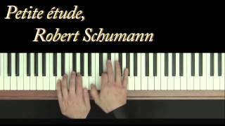 Robert Schumann - Petite étude - Piano - Frédéric Bernachon - Little study