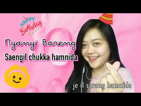 SAENG IL CHUK KA HAMNIDA || Happy Birthday Versi KOREA Cover