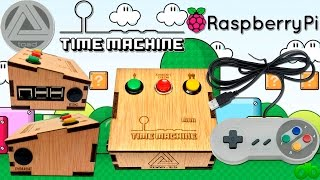 Retroconsola Time Machine Mini Retropie (PC Consola Multi Emuladores Raspberry Pi 3 by Toad)