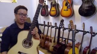 Phần thưởng chương trình Tặng Đàn Guitar của Tiến Nguyễn Music