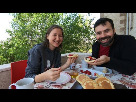 Pankek Tarifli Pazar Keyfi ve Bahar Temizliği | Evde Bir Gün Karantina Günlükleri