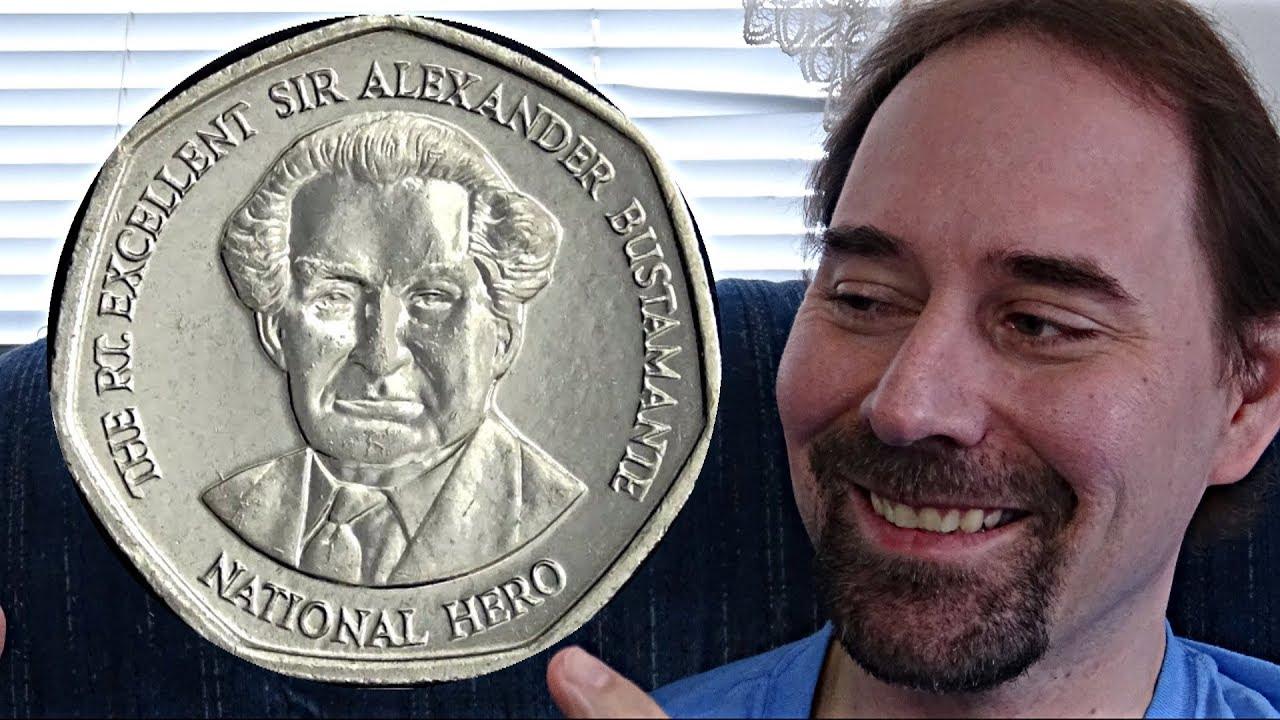 Jamaica One Dollar 1996 Coin