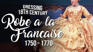 How to Dress 18th Century: 1750  1770 Robe a la Francaise