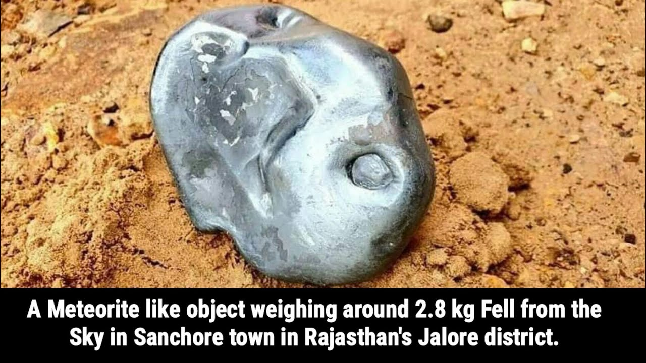 Meteorite falls in rajasthan | Latest News Today