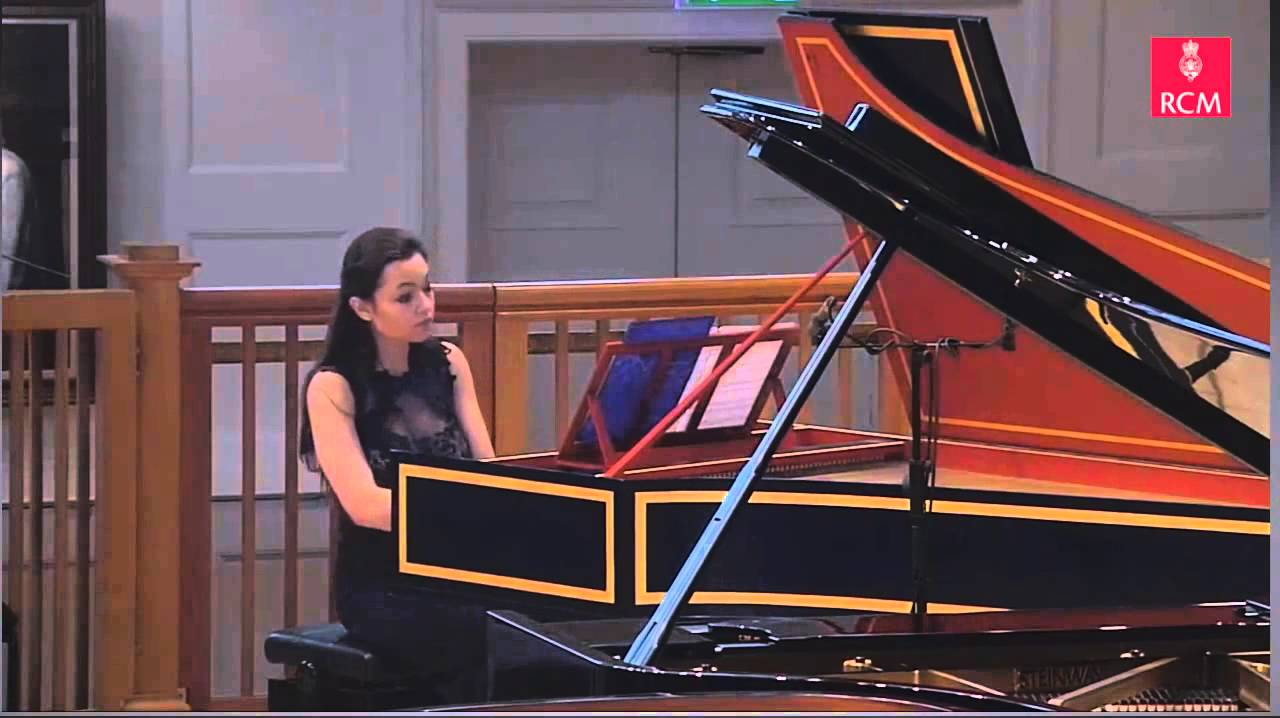 Edyta Lajdorf plays Le rappel des oiseaux by Jean-Philippe Rameau