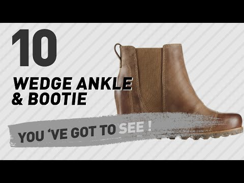 Wedge Ankle & Bootie For Women // The Most Popular 2017