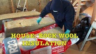 Building Farmhouse #13: Roxul Rock Wool Insulation