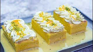 Mango Tres Leches Cake recipePastel de Tres Leches Mango 3 Milk CakeMango Malai Cakeآم ملائی کیک