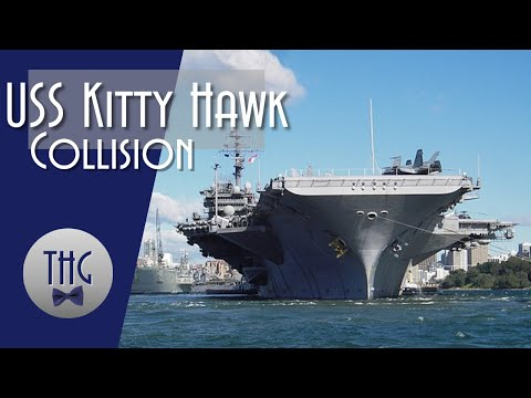 When The USS Kitty Hawk Collided With A Soviet Submarine.