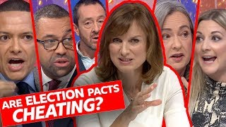 Is tactical voting cheating at the election? | Question Time - BBC / Видео