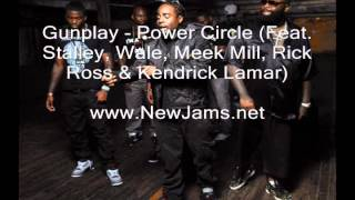 MMG - Power Circle (Feat. Gunplay, Stalley, Wale, Meek Mill, Rick Ross & Kendrick Lamar)
