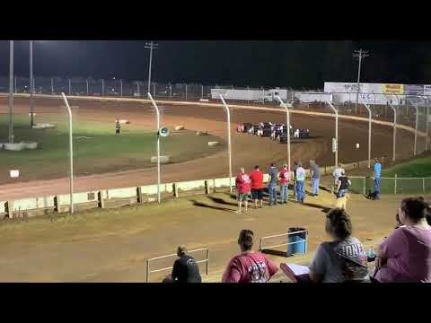 Sharon Speedway Mark Marcucci Memorial 9-21-19 ModLite Heat #1