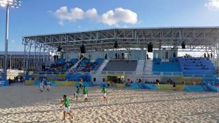 CONCACAF Beach Soccer World Cup Qualifiers 2017 - Mexico vs Guadeloupe