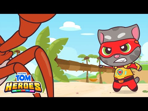 Talking Tom Heroes - Talking Tom Fights The Giant Crab (Episode 35)