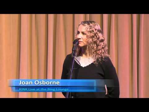 Joan Osborne - Interview (Bing Lounge)