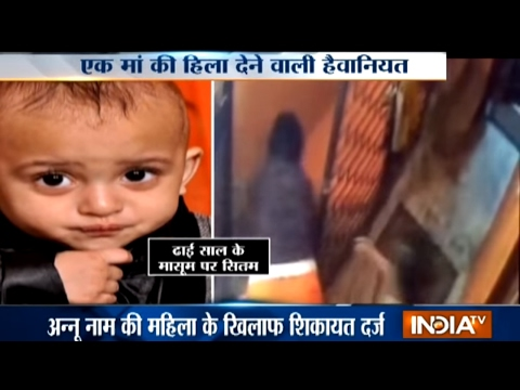 Shocking! Mother Throws her Child from Staircase in Prahladpur area of Delhi
