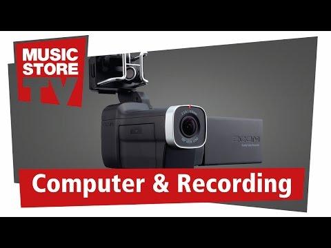 ZOOM Q8 Handy Audio Video Recorder Test (deutsch)