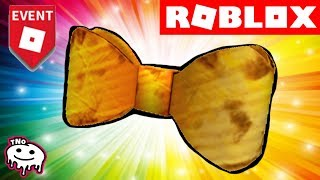 ZLATÝ MOTÝLEK ZDARMA - DIY Cardboard Bow Tie - BLOXYS | Roblox | tNo CZ/SK