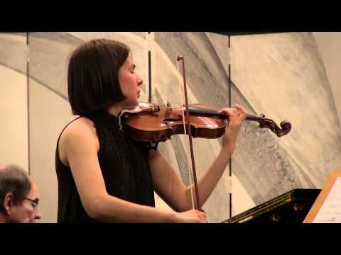 Antonín Dvořák: Sonata for violin and piano F dur, op. 57 (Barbora Valečková)