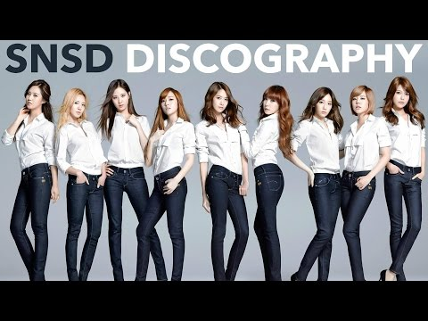The Nation's Girl Group - Girls' Generation Discography