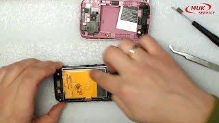 Samsung GT S6102 SAMSUNG GALAXY ACE - ремонт, замена экрана, разборка телефона - repair samsung gala(http://www.service.muk.ua/ МУК-Сервис — все виды ИТ ремонта: гарантийный, не гарантийный ремонт, продажа запасных часте..., 2015-12-01T09:08:22.000Z)
