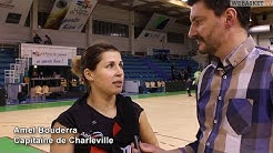 Amel BOUDERRA après Saint-Amand vs Charleville (59-82) LFB