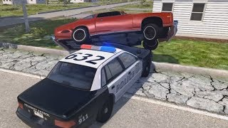San Frisco Police Chases | BeamNG.drive