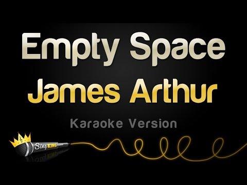James Arthur - Empty Space (Karaoke Version)