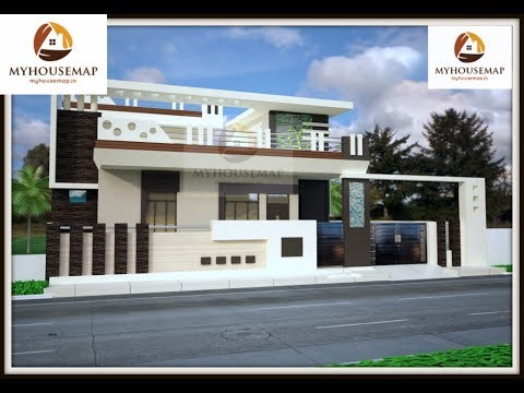 Ground floor home elevations excellent small house for Ground floor 3d elevation