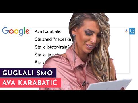 GUGLALI SMO: Ava Karabatić | S01E07