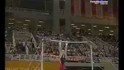 Fabian Hambuechen (GER) - High Bar TF @ Athens Olympic Games 2004