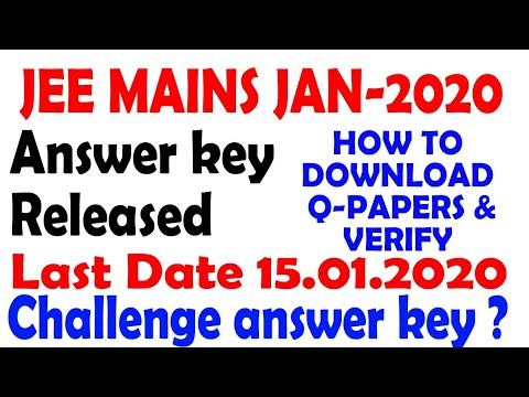 jee-main-2020-answer-key-released-|-jee-mains-key-|-jee-jan-key-2020