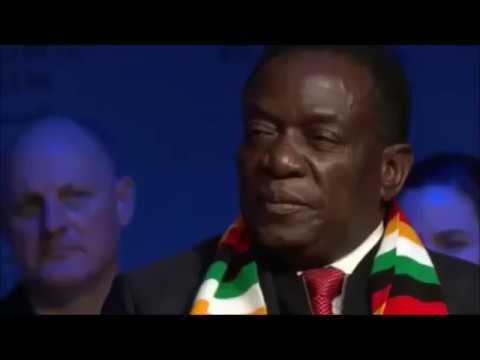President E.D Mnangagwa's FULL interview at DAVOS