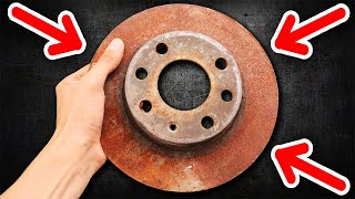 COOL IDEA! DO NOT DISCARD THE BRAKE DISC!