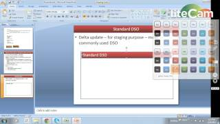 sap bw dso overview
