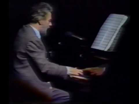 "Stephen Sondheim Sings ""Move On"" At Michael Bennett's Memorial (7/87)"