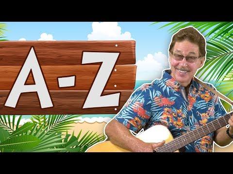 Lets Learn the Alphabet | Learning Letter Sounds | Jack Hartmann