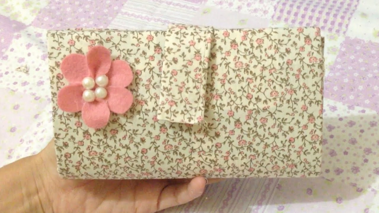 Bolsa De Mão Feita Com Papelão : Como fazer carteira feita com caixa de leite sem costura